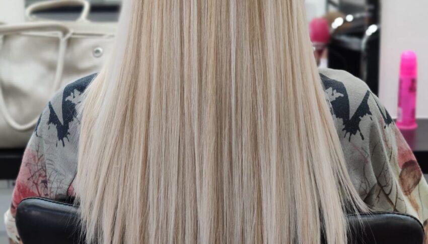 150 ciocche mesciato blonde